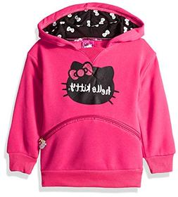 Hello Kitty Girls' Toddler Character Hoodie, Fuchsia, 4T