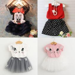 toddler kids baby girls outfits clothes t