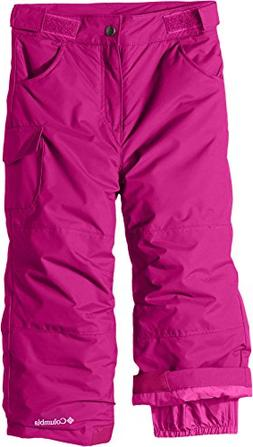 Columbia Toddler Girls' Starchaser Peak II Pant, Deep Blush,