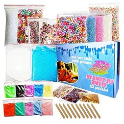 Ultimate Slime Kit for Girls and Boys - Supplies and Add Ins