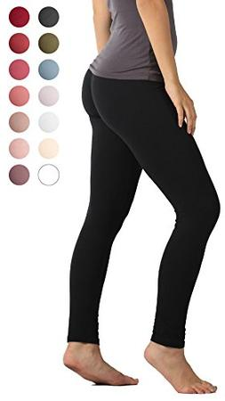 Premium Ultra Soft High Waist Leggings for Women - SL1 Black