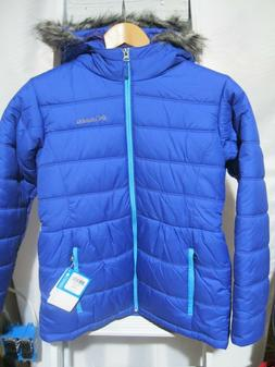 COLUMBIA Youth GIRLS L Large 14 16 WINTER Coat JACKET DK PUR