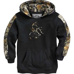 Legendary Whitetails Youth Outfitter Hoodie Onyx Large